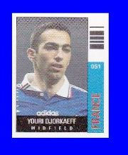 France Youri Djorkaeff Paris St Germain